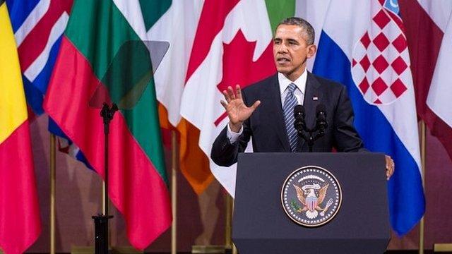 Барак Обама о санкциях против России